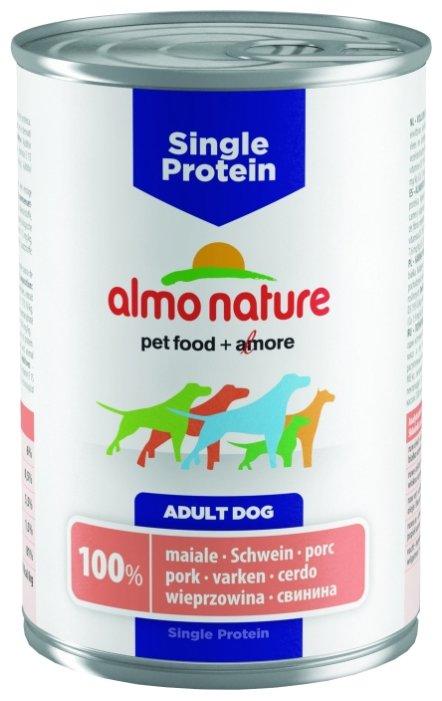 Корм для собак Almo Nature Single Protein свинина 400г