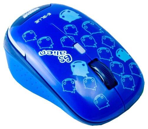 Мышь e-blue Monster Babe EMS103BL Blue USB