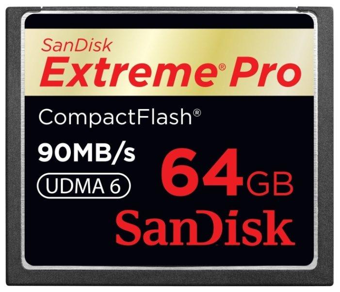 SanDisk Extreme Pro CompactFlash 90MB/s 64Gb