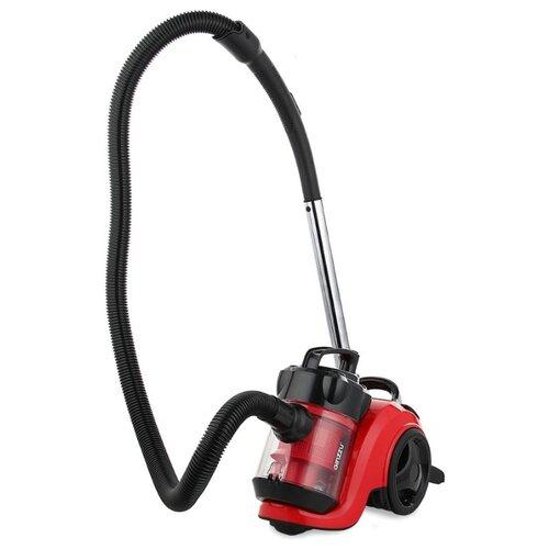 Пылесос Ginzzu VS420 черный/красный