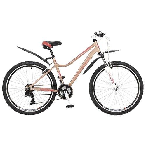 Горный (MTB) велосипед Stinger Vesta 26 (2017) розовый 17 (требует финальной сборки)Велосипеды<br>