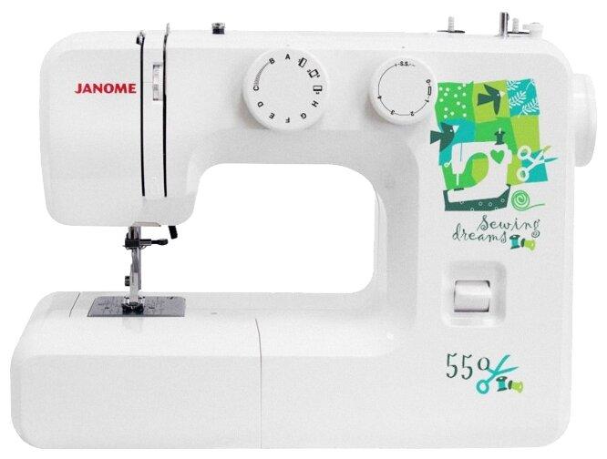 Janome 550 швейная машина
