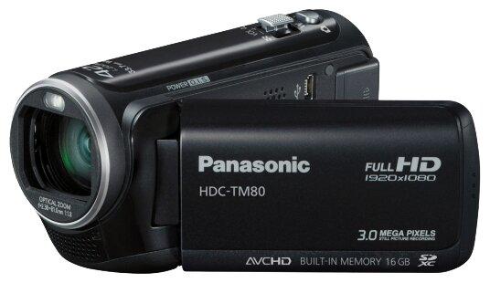 Сравнение с Panasonic HDC-TM80