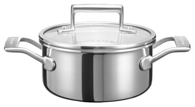 Кастрюля KitchenAid KC2T15EHST 1,42 л