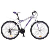 "Велосипед Для Взрослых Stels Miss 8500 V 26 (2016) 17"" Белый/пурпурный"