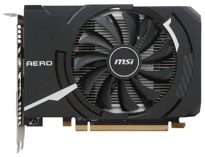 MSI Видеокарта MSI Radeon RX 550 1203Mhz PCI-E 3.0 4096Mb 7000Mhz 128 bit DVI HDMI HDCP Aero ITX OC