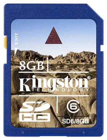 Карта памяти Kingston SD6