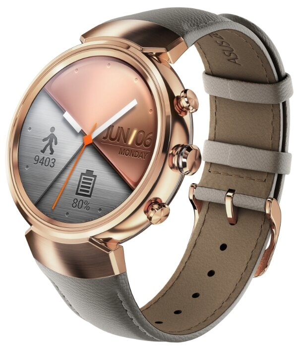 Часы ASUS ZenWatch 3 (WI503Q) leather