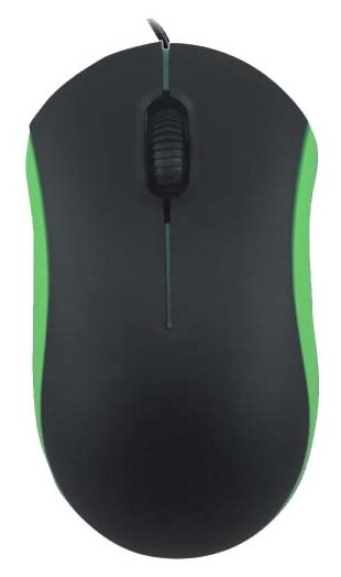 Мышь Ritmix ROM-111 Black-Green USB