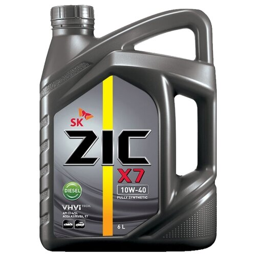 Моторное масло ZIC X7 DIESEL 10W-40 6 л