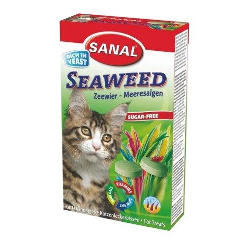 Добавка в корм SANAL Seaweed с морскими водорослями для кошек и котят 50 г
