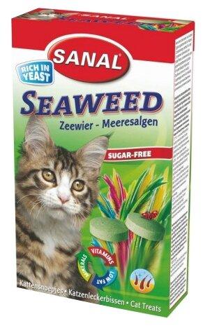 Витамины Sanal Seaweed для кошек,