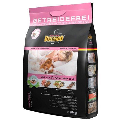 Корм для собак Belcando (4 кг) Finest GF Lamb для собак мелких и средних пород чувствительных к зерну