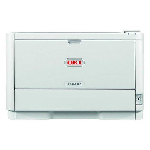 Принтер OKI B432dn, белый/серый
