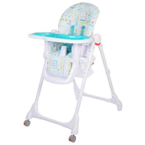 Купить Стульчик для кормления Baby Care Fiesta синий, Стульчики для кормления