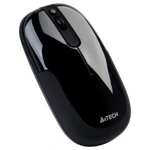 Мышь A4Tech D-110 Holeless Black USB