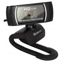 Веб-камера defender G-lens 2597 HD720p черный