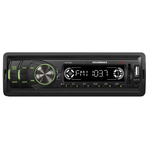 Автомагнитола SoundMAX SM-CCR3050F, черная