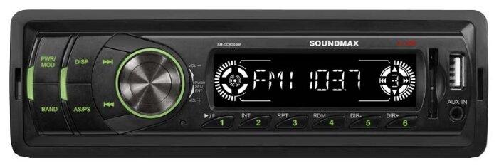 SoundMAX SM-CCR3050F  черный