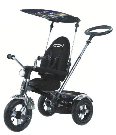 Трехколесный велосипед RT ICON 1 Black Mat Car