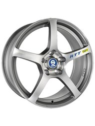 Sparco RTT524 7x16 4x100 ET37 D63.3 Matt Silver Tech Diamond Cut - фото 1