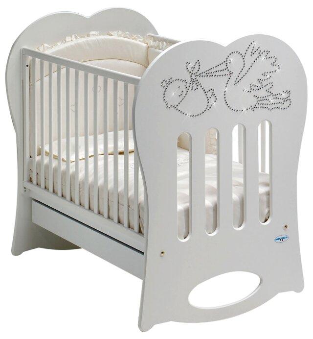 Кроватка Baby Italia Crystal