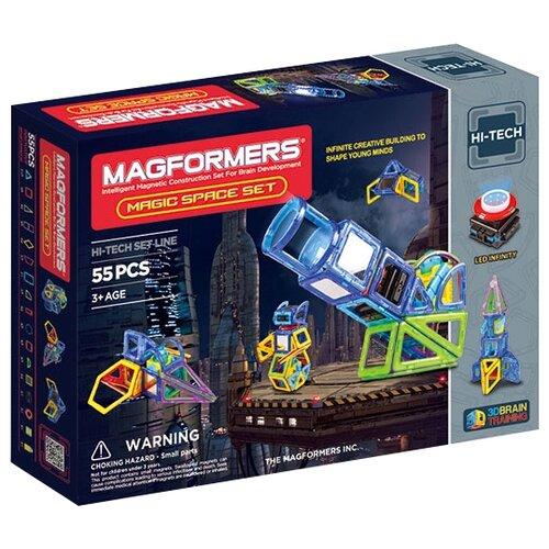 Магнитный конструктор Magformers Hi-Tech 63140 Магия космосаКонструкторы<br>
