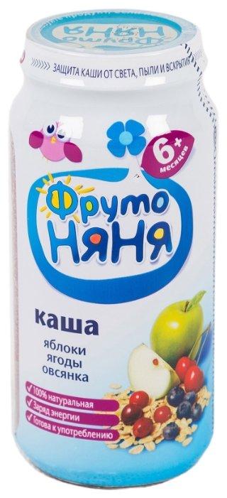 Каша ФрутоНяня безмолочная овсяная с яблоком и ягодами (с 6 месяцев) 250 г