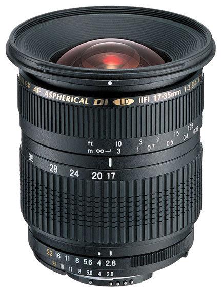 Объектив Tamron SP AF 17-35mm f/2.8-4 Di LD Aspherical (IF) (A05) Pentax KA/KAF/KAF2