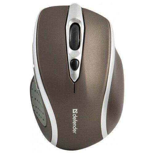 Беспроводная мышь Defender Safari MM-675, коричневый