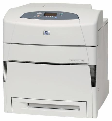 HP COLOR LASERJET 5550N PRINTER DRIVERS FOR WINDOWS 7