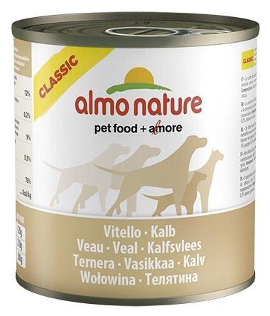 Корм для собак Almo Nature Classic телятина