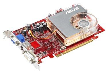 ASUS Видеокарта ASUS Radeon X1600 Pro 500Mhz PCI-E 256Mb 780Mhz 128 bit DVI TV