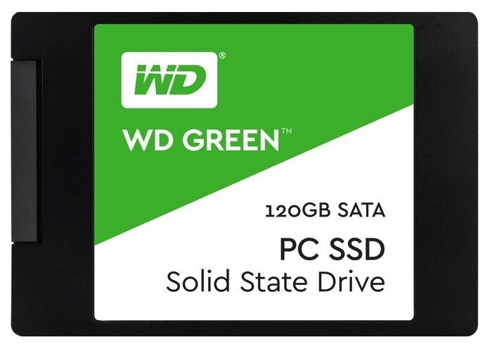 Western Digital WD GREEN PC SSD 120 GB (WDS120G1G0A)