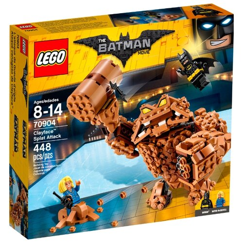 Купить Конструктор LEGO The Batman Movie 70904 Нападение Глиноликого, Конструкторы