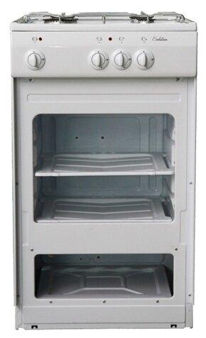 Сравнение с Газовая плита De Luxe 5040.39г щ белый