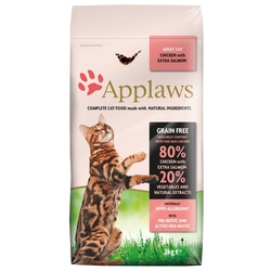 Корм для кошек Applaws Adult Cat Chicken with Extra Salmon