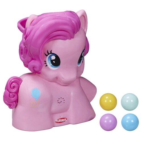Купить Интерактивная развивающая игрушка Playskool My little Pony Пинки Пай с мячиками розовый, Развивающие игрушки