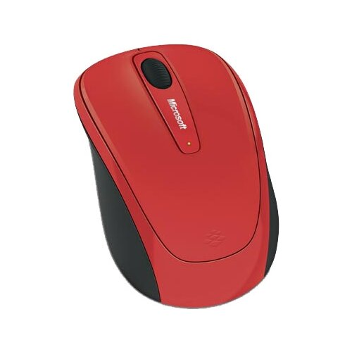 Мышь Microsoft Wireless Mobile Mouse 3500 Limited Edition Flame Red USB michael seidl andreas baumgarten steve beaumont microsoft system center 2016 orchestrator cookbook second edition