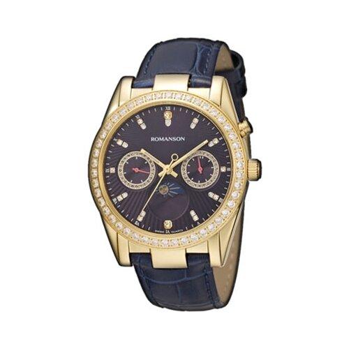 цена Наручные часы ROMANSON RL4210QLG(BU) онлайн в 2017 году