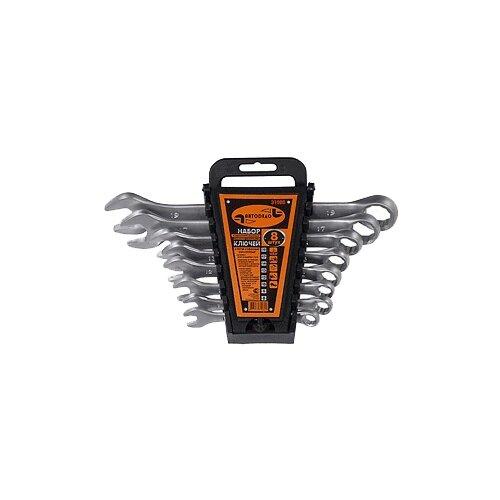 Набор гаечных ключей АвтоDело (8 предм.) 31080 набор гаечных ключей sata 09050 8 22 мм