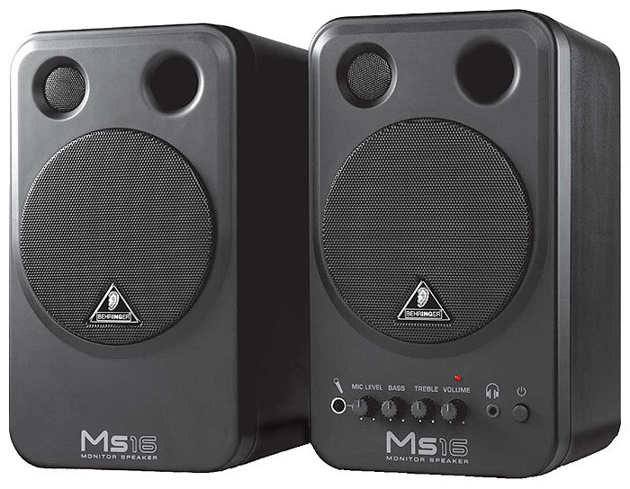 Behringer MS 16 MONITOR SPEAKERS