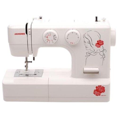 Швейная машина Janome My Style 101, белыйШвейные машины<br>