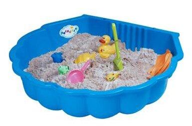 Песочница-бассейн Paradiso Ракушка одинарная маленькая