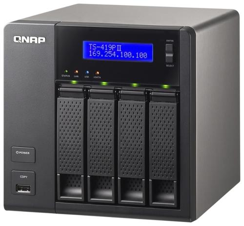 Сетевой накопитель (NAS) QNAP TS-419P II