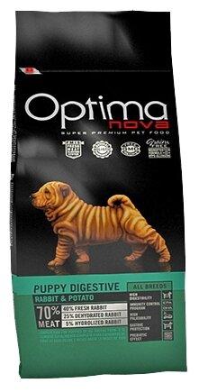 Корм для собак OptimaNova Puppy Rabbit Digestive & Potato (0.8 кг)