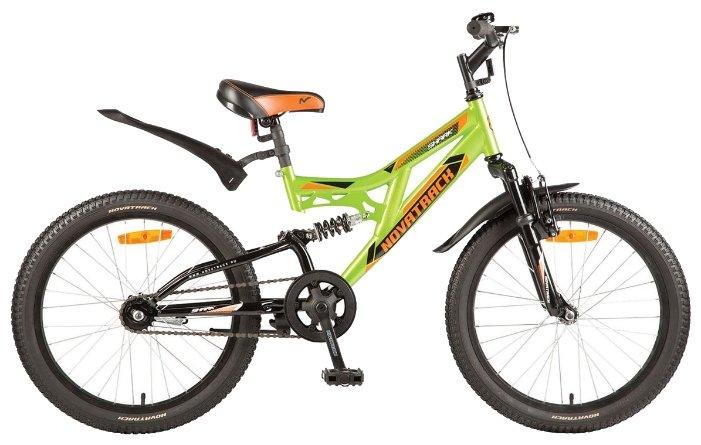 Подростковый велосипед Novatrack Shark 20 1 (2017)
