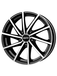 Диск колесный Alutec Singa 6x15/4x100 D56.6 ET39 Diamond-black front polished - фото 1