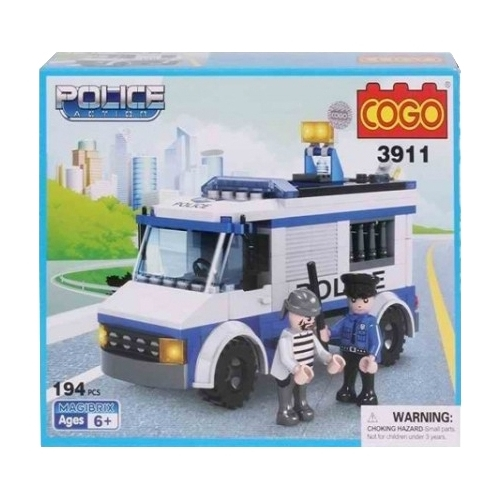 Конструктор COGO Police Action CG3911