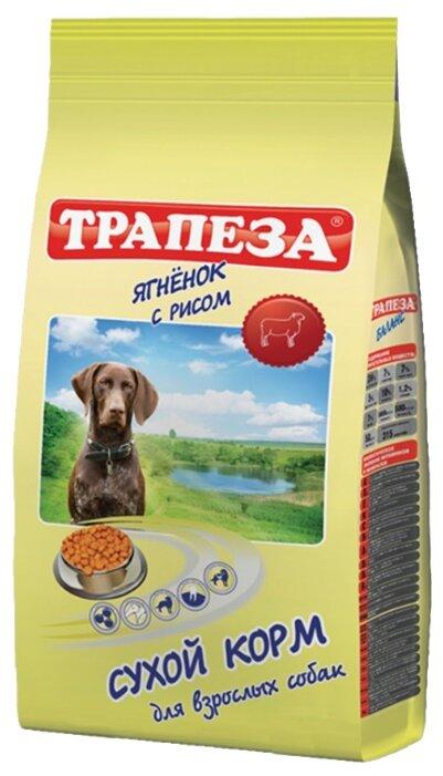 Корм для собак Трапеза Для взрослых собак Ягненок с рисом (2.5 кг)